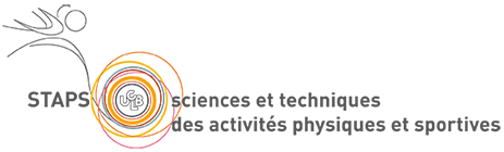 logo-UFR STAPS : Unité de Formation et de Recherche en Sciences et Techniques des Activités Physiques et Sportives